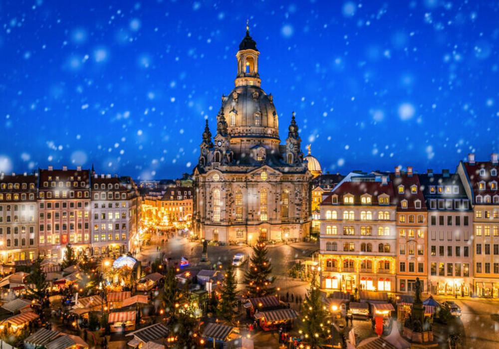 Advent auf dem Neumarkt in Dresden ©eyetronic - stock.adobe.com