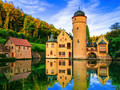 Schloss Mespelbrunn ©Freesurf - stock.adobe.com